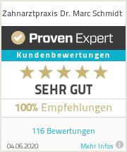 Erfahrungen & Bewertungen zu Zahnarztpraxis Dr. Marc Schmidt